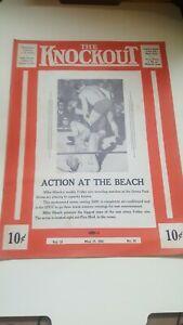 """Vintage 1941 Wrestling Boxing Program. """"Little Pancho (Villa)."""" Danny McShain."""