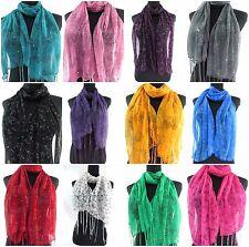 $2.5 each, lot of 15 fashion scarf women girl gift wholesale flower butterfly