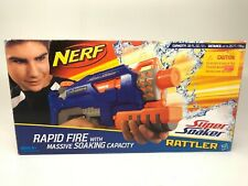 Nerf Super Soaker Blue Rattler Rapid Fire New Unopened in box