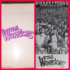 The Warriors 1979 Press Kit Book Production Information Folder, 3 B & W Photos