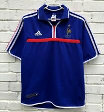 FRANCE NATIONAL TEAM 20002002 HOME FOOTBALL JERSEY MAILLOT SOCCER SHIRT VINTAGE