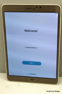 "Samsung Galaxy Tab S2 SM-T713 8.0"" 32GB Gold"