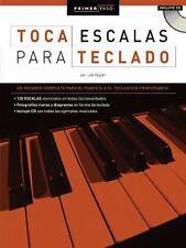 PRIMER PASO: TOCA ESCALAS    PARA TECLADO BK/CD (Primer Paso / First Step), Vogl