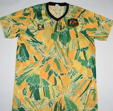 1990-1992 AUSTRALIA KANGEROO HOME FOOTBALL SHIRT (SIZE XXL)