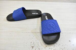 Stacy Adams Shuffle Slide Sandals, Men's Size 9 M, Blue MSRP $36.45