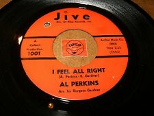 AL PERKINS - I FEEL ALL RIGHT - IT'S GOOD ENOUGH   / LISTEN - MOD RNB POPCORN