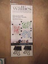 Wallies, adesive immagine nota GRUCCE, riutilizzabile, Bull Cane Design Clip