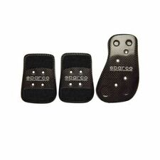Sparco Carbon Fiber Pedal Set 100% Carbon Fiber Construction #03783L