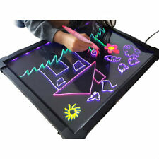 Sensory LED Light up Drawing Writing Board Toy Special Needs Autism ADHD 60 X 40