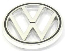 EMBLEM HOOD FRONT VW BLACK ACCENT  VW TYPE1 BUG 63-79 TYPE3 62-69  113853601B