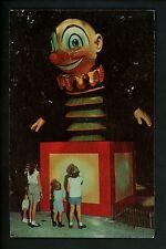 Amusement Park postcard Ligonier, Pennsylvania PA Story Book Forest Jack in Box