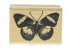 Fun Stamps Butterfly Moth Insect Bug Wooden Rubber Stamp