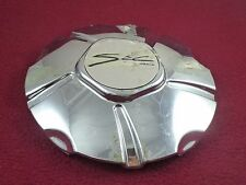 SEC Alloy Wheels Chrome Custom Wheel Center Cap # 06-97-12-037 (1)