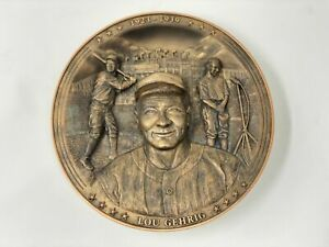 Lou Gehrig Pride of the Yankees Plate Bradford Exchange Limited Edition
