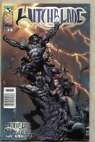 Witchblade #36-2000 vf+ 8.5 Image Top Cow Finch Standard Newsstand Variant cover
