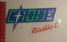 ADESIVI/Sticker: radio C 101.1 VHF (24011729)