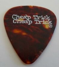 Cheap Trick Vintage Brown Tortoise Shell Tour Concert Issue Guitar Pick