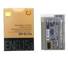 New Original Nikon EN-EL15a Battery for Nikon D7500 D7100 D7200 D7000 D850 D750