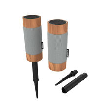 KitSound Diggit Outdoor Wireless Water Resistant Bluetooth Speaker Twin Pack