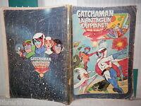 Vecchio quaderno scolastico di scuola PIGNA GATCHAMAN LA BATTAGLIA DEI PIANETI