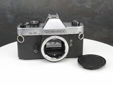 *Rollei Rolleiflex SL 35 Camera 35mm Manual SLR Body AS-IS
