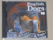ENGLISH DOGS -All The World's A Rage- CD