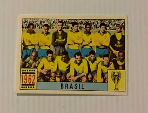 Figurina/Sticker calciatori Panini Mexico70 Squadra/Team Brasil 1962