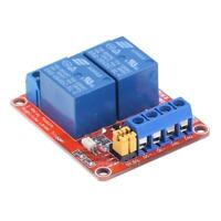 5V 2Channel Relay Module with Optocoupler Isolation High/Low Level Trigger Board