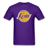 Los Angeles Kobe Bryant Lakers Black Mamba T-Shirt Logo Cotton *Many Options*