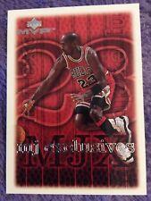🏀 1999 MJ Exclusives Upper Deck MVP Card Chicago Bulls # 179 Michael Jordan.