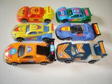 Nascar Racing Model Race Cars Set 1:87 H0 - Kinder Surprise Plastic Miniatures