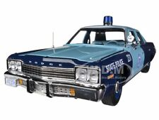 1974  DODGE MONACO PURSUIT MASSACHUSETTS STATE POLICE 1/18 AUTOWORLD AMM1023
