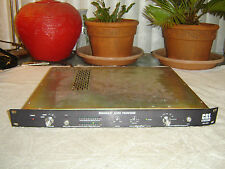 CRL BAP-2000 Broadcast Audio Processor, Orban, Limiter, Expand, Eq, Vintage Rack