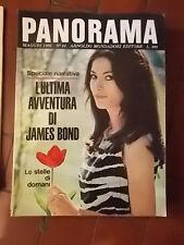 PANORAMA n°44 MAGGIO 1966 L'ULTIMA AVVENTURA DI JAMES BOND