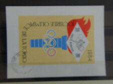 Romania 1964 Olympic Games Tokyo Miniature Sheet VFU