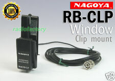 Nagoya RB-CLP BNC Window Clip mount with RG-174 3M cable
