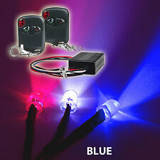 10 BLUE Under body car LED Light Kit + Wireless Remote