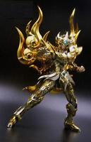 CQ Model Saint Seiya Myth Cloth Soul of God SOG EX Leo Aiolia Action Figure