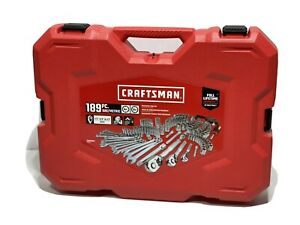 Craftsman CMMT12034 189PCS SAE/Metric Mechanics Tool Set BRAND NEW