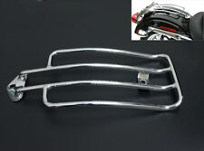 Chrome Solo Luggage Rear Fender Rack For Harley Havidson 1985-2003 XL Sportster
