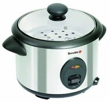 Breville ITP181 1.8L Rice Cooker and Steamer-Silver 700W