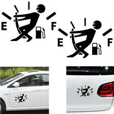 1 PC Funny Pull Fuel Tank Pointer To Full Hellaflush Vinyl Car Sticker Decal