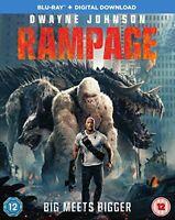 Rampage [Blu-ray] [2018] [DVD][Region 2]