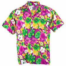 Rayon Regular Size Hawaiian Casual Shirts & Tops for Men
