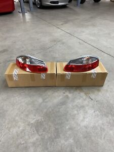 Pair Of Porsche Brand Genuine Boxster 986 1997-2002 Smoked Rear Taillights OEM