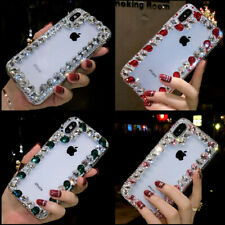 Bling Crystal Glitter Diamonds Phone Back Case Protective Covers For ZTE #1
