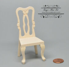 1:12 Dollhouse Miniature Unfinished Side Chair/Miniature Chair AZ CL08702