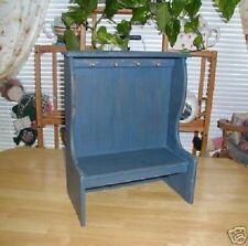 Whimsical Country Blue Wall Shelf