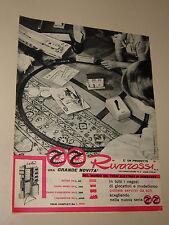 RIVAROSSI TRENI ELETTRICI=ANNI '50=PUBBLICITA=ADVERTISING=WERBUNG=665