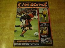 Dundee Teams C-E Football Pre-Season Fixture Programmes